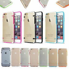 New Fashion Ultra Thin Transparent Crystal Clear Hard TPU Case Cover iPhone 5/5S