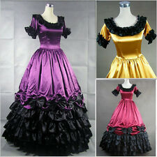 Southern Belle Civil War Gown Victorian Dress Theatrical Costume Steampunk Dress