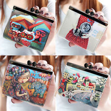 Cute Womens Girls Leather Wallet Coin Purse Clutch Wallet Card Holder Small Bag
