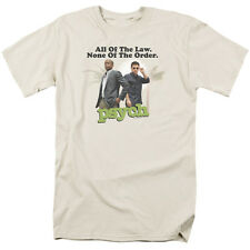Psych TV Show All of the Law None of the Order Tee Shirt Adult S-3XL