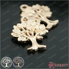 20PCS 20*16MM Zinc Alloy Tree Charms Pendants Findings Accessories 26857