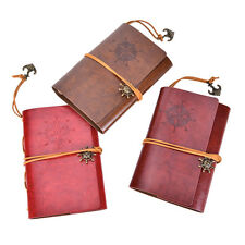 Vintage Classic Retro Leather Journal Travel Notepad Notebook Blank Diary HF