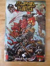 3 Floyds Alpha King #1 (2016) Comic Book~Signed by Floyd/Bisley/Azzarello~DLD