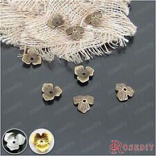 10MM Zinc Alloy Flower Beads Caps Jewelry Findings Accessories 20930