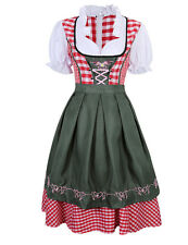 Women's Chic Hot German Mini Dirndl Oktoberfest Fancy Dress Ladies Costume New