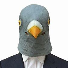 Adult Halloween Prop Pigeon Head Latex Mask Hats Costume Party Theater Novelty