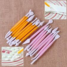 8pcs New DIY Cake Fondant Decorating Sugarcraft Paste Flower Modelling Tools Set