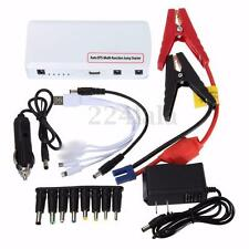 12V Mini Car Jump Starter Multifunction Battery Charger Power Bank Booster Light