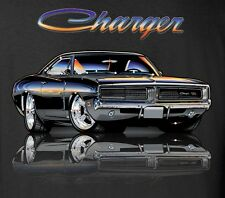 Dodge Charger T-shirts - R/T Mirrored - Mopar Muscle car - 100% Cotton