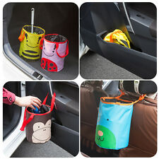 Mini Bin Trash Garbage Rubbish Hanging Collapsible Foldable Waste Basket YW