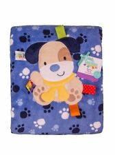 Taggies Baby Blanket and Toy - You choose Puppy, Kitty or Giraffe