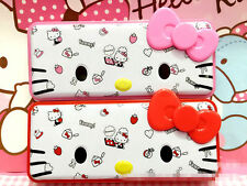 New Hellokitty Metal Pencil Box Pen Case Portable Kid School Supply AA KT9214