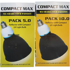 URS Compact Max Reptile UV Light 5 or 10% 26W lamp bulb fitting lizard health