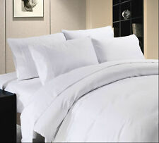 SALE 800 1000 1200 TC 100% Egyptian Cotton Small Double Solid Bedding collection