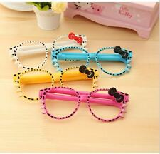 Hello Kitty bow glasses ball point pen kawaii pens Office of School stationery