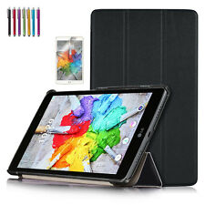 Ultra Slim Stand Book Folio Leather Hard Case Cover For LG G Pad X 8.0 / 3 8.0