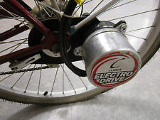 CURRIE ELECTRODRIVE MOTOR, RACK & THROTTLE EV MOTORS E-RIDE ELECTRIC BICYCLE