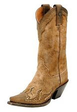 Harley-Davidson Women's Jessa Brown Leather High Cut Boot #D83653 Size 10 Medium