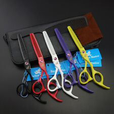 "5.5""&6"" Professional Hair dressing Styling Scissors Thinning Shears K620"