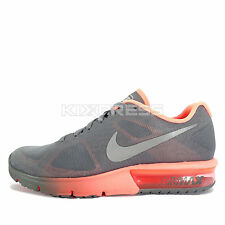 WMNS Nike Air Max Sequent [719916-011] Running Cool Grey/Silver-Bright Mango