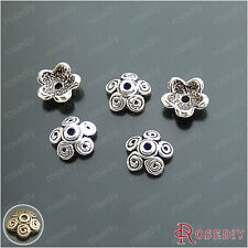 50PCS 11MM Zinc Alloy Beads Caps Jewelry Findings Accessories 14210