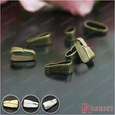 100PCS 10*4MM Iron Pendant Hook Charms Connetor Findings Accessories 26718