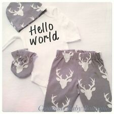 baby boy newborn outfit , home coming outfit , baby  clothing set , boy clothes