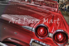 Seeing Red - CANVAS OR PRINT WALL ART