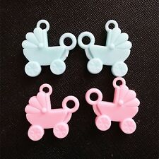 50PCS Carriage charm favor first birthday party baby shower decoration girl boy