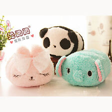 Plush Panda Rabbit Toy Mobile Phone Holder Cute Pouch Bag Case Home Phone Stand