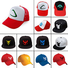 Anime Pokemon GO Baseball Hat Team Instinct Mystic Valor Adjustable Snapback Cap