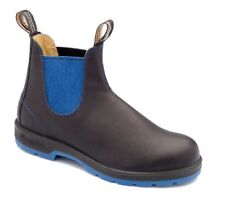 Blundstone Urban 1403 Leather Lined Black and Blue Leather Boots
