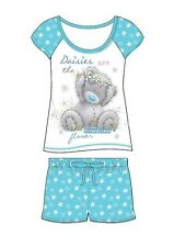 BNIP LADIES ME TO YOU TATTY TEDDY SHORT PYJAMAS SIZES 8-22  100% COTTON
