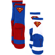 DC Comics Superman Boys 2 pack Athletic Socks SM1569