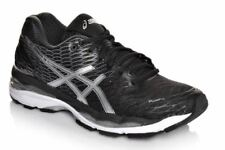 NIB Women's Asics Gel Nimbus 18 Running Shoes Medium Choose Size  Black/Silv/Wht