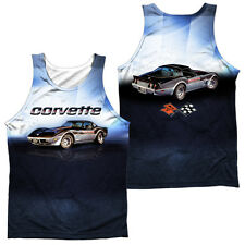 CHEVY BLUE VETTE CHECK Sublimation Men's Graphic Tank Top Sleeveless Tee SM-3XL