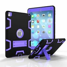 3in1 Silicone Hybrid Shockproof Hard Protective Case Cover For iPad 4/Air 2/Pro