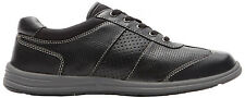 ROCKPORT  Women's XCS Walk Together Lace Up T-Toe Sneaker Shoes Black M75853