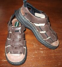 BUSTER BROWN LEATHER SANDALS.....SIZE: 4M.....EXCELLENT CONDITION!