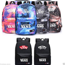 "Galaxy School Bag Girl Boy Travel Rucksack 14"" Laptop Bookbag Shoulder Backpacks"