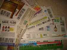 LOT ASSORTED GROCERY COUPONS exp 8/31/2016