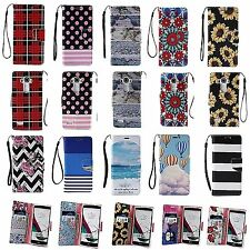 For LG G4 Cell Phone Case Hybrid PU Leather Wallet Credit Card Pouch Flip Cover