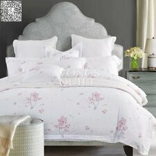 New 100% Cotton Duvet/Quilt Cover Twin Full Queen King Size Bedding Set 4PCS