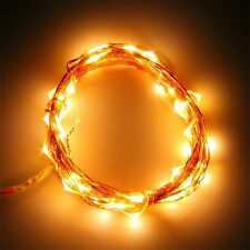 5M 50 LED Copper Wire Xmas Wedding Party String Fairy Light Lamp DC 12V KG