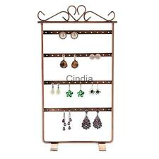 48 Holes Earrings Ear Studs Holder Stand Jewelry Display Show Rack Multi