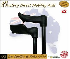 2 x Palm Grip Walking Stick / Cane - Left or right... Top Value!!