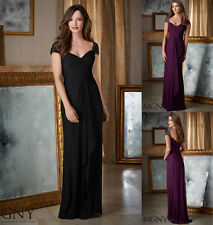 New Women's Formal Gown Party Prom Ball Long Wedding Bridesmaids Evening Dress
