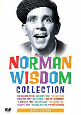 Norman Wisdom Collection (DVD, 2008, 12-Disc Set, Box Set)