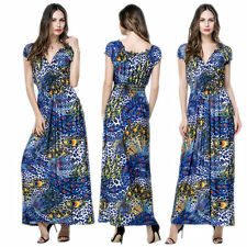Sexy Women's Summer Long Maxi Evening Cocktail Party Beach Dress Evening Dress