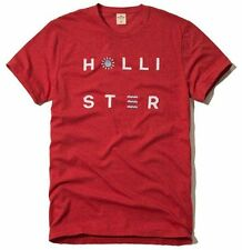 Nwt Hollister By Abercrombie Mens Graphic T Shirt Size S XL Red